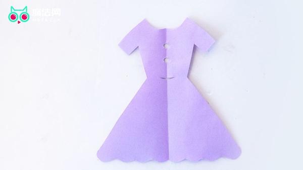 对称的裙子怎么剪
