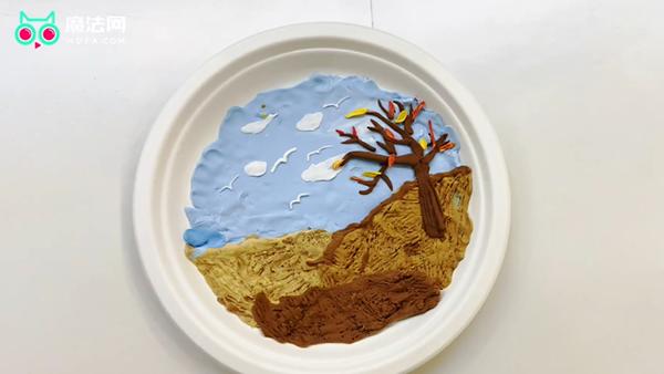 粘土做关于秋天主题教程