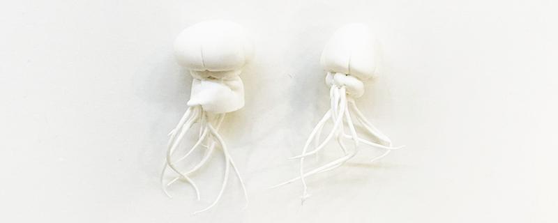 粘土做水母怎么做