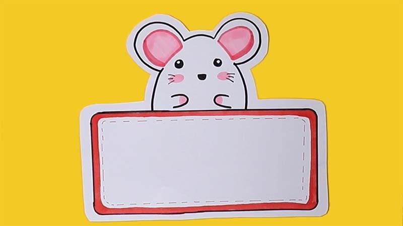 小老鼠读书卡简单