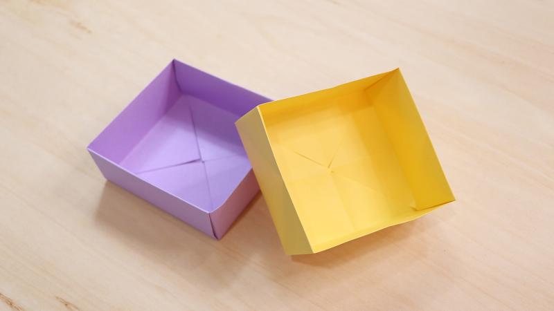 纸盒子的折法