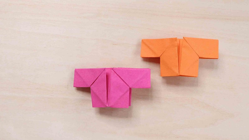 折纸衣服怎么折