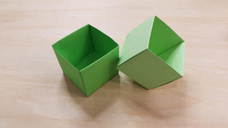 折纸垃圾桶