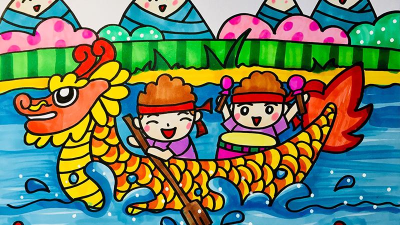 端午节儿童画